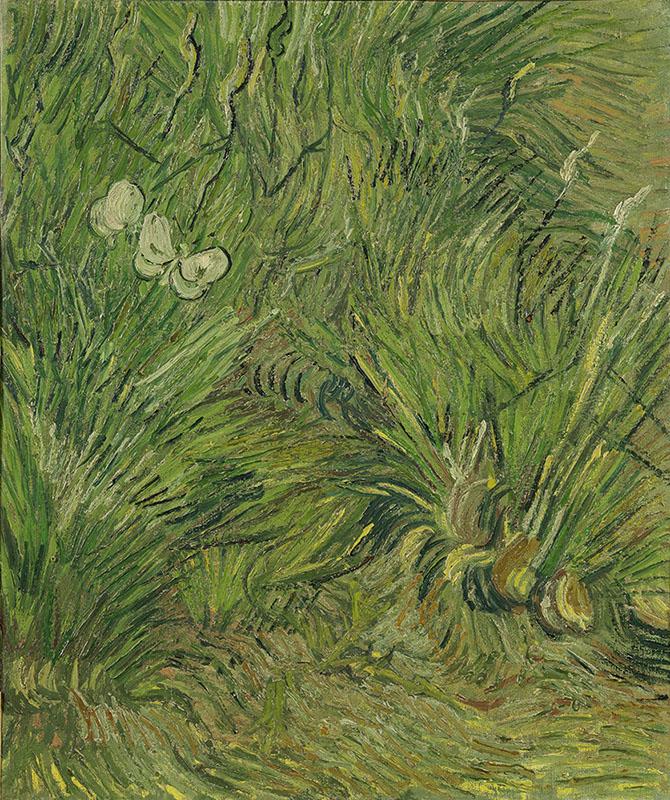 Vincent van Gogh Garden with Butterflies