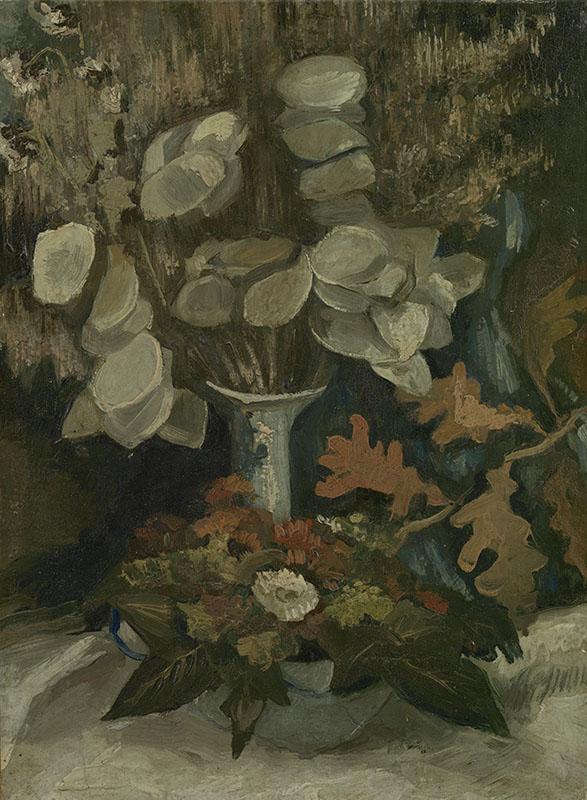 Vincent van Gogh Vase with Honesty