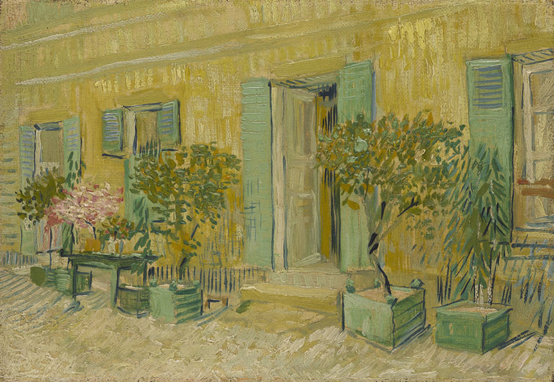 Vincent van Gogh Exterior of a Restaurant in Asnières
