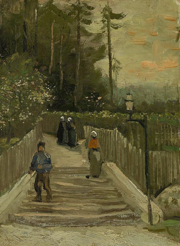 Vincent van Gogh Path in Montmartre
