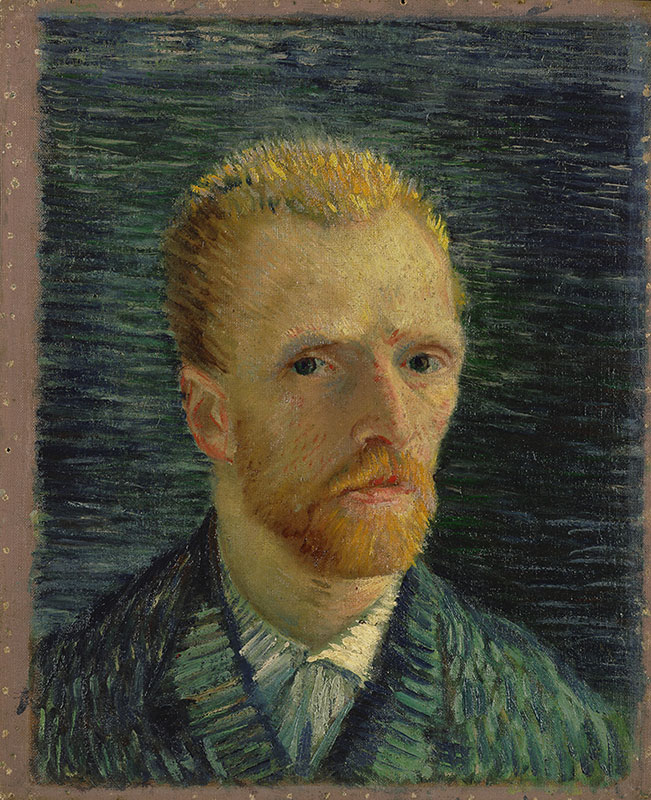 Vincent van Gogh Self-Portrait (2)
