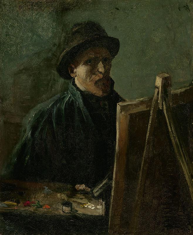 Vincent van Gogh Self-Portrait as a Painter (2)