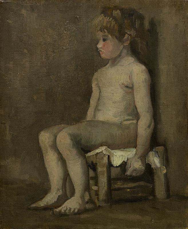Vincent van Gogh Nude Girl