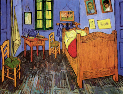Vincent van Gogh Vincent's Bedroom in Arles