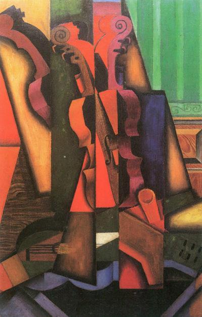 Juan Gris Violin and guitar