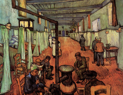 Vincent van Gogh Ward in the Hospital in Arles