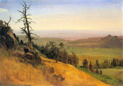 Albert Bierstadt Wasatch Mountains Nebraska