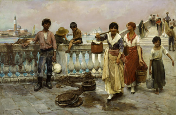 Frank Duveneck Water Carriers