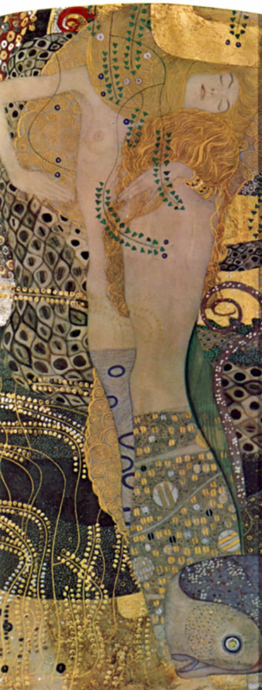 Gustav Klimt Water snakes (friends) I