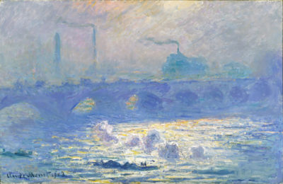 Claude Monet Waterloo Bridge