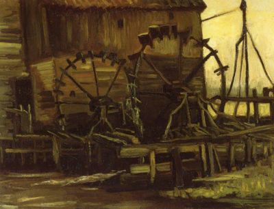 Vincent van Gogh Waterwheels