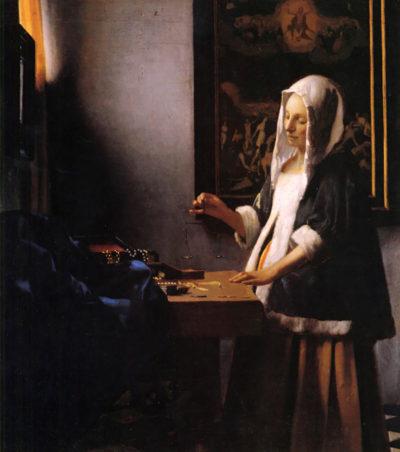 Johannes Vermeer Weights