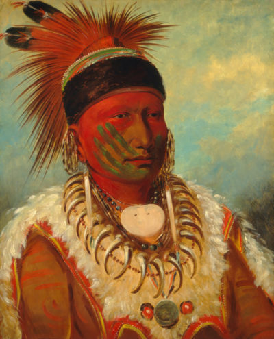 George Catlin White Cloud