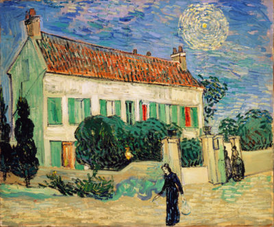 Vincent van Gogh White House at Night