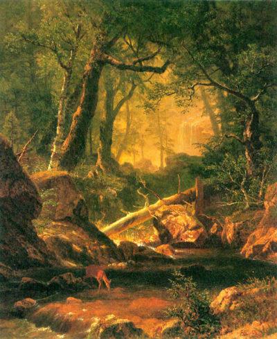 Albert Bierstadt White Mountains