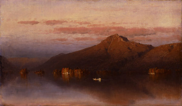 Sanford Robinson Gifford Whiteface Mountain from Lake Placid