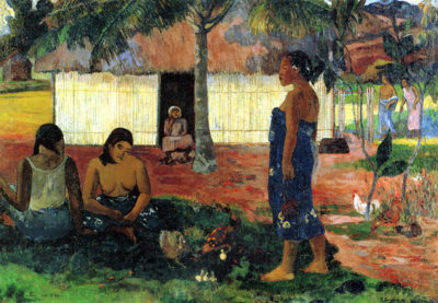 Paul Gauguin Why are you Angry?