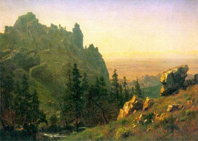 Albert Bierstadt Wind River Country
