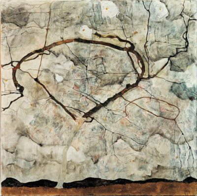 Egon Schiele Winter Tree