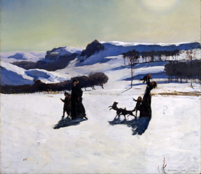 Rockwell Kent Winter in the Berkshires