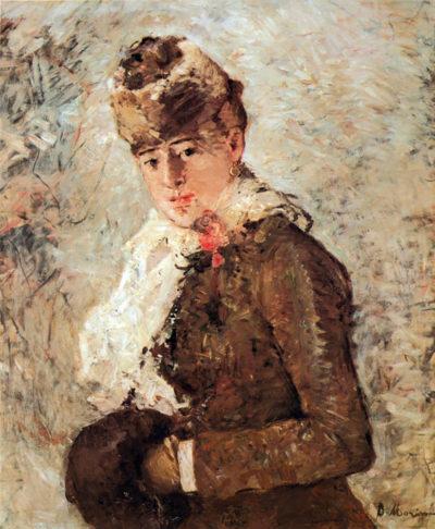 Berthe Morisot Winter (woman with Muff)
