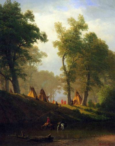 Albert Bierstadt Wolf River