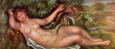 Pierre-Auguste Renoir Woman Reclining