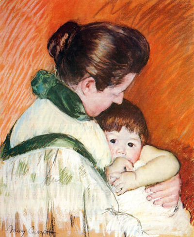 Mary Cassatt Woman and Child