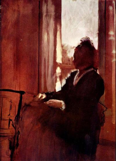 Edgar Degas Woman at the window