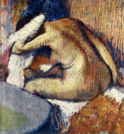 Edgar Degas Woman drying hair