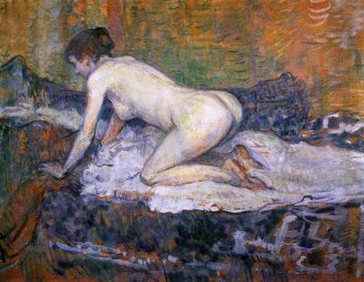 Henri de Toulouse-Lautrec Woman naked