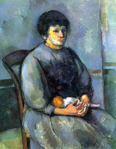Paul Cézanne Woman with Doll