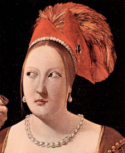 Georges de La Tour Woman's head