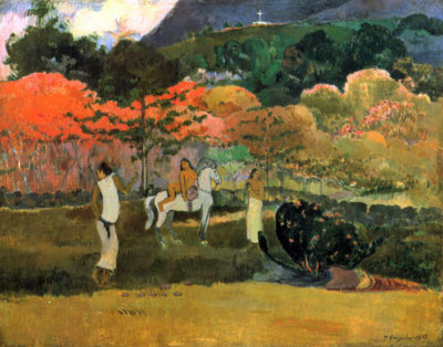Paul Gauguin Women and Mold