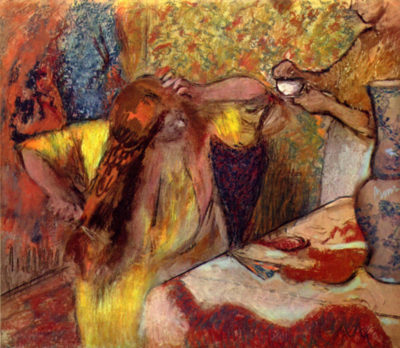 Edgar Degas Women at the toilet