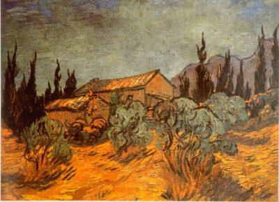 Vincent van Gogh Wooden Sheds
