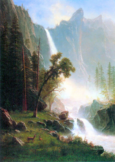 Albert Bierstadt Yosemite Falls