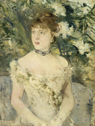 Berthe Morisot Young Girl in a Ball Gown