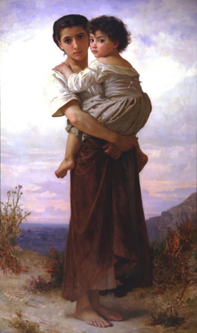 William-Adolphe Bouguereau Young Gypsies