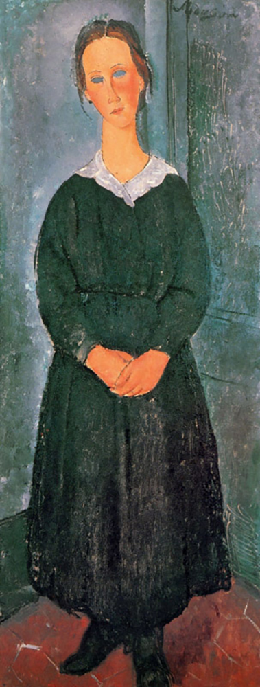 Amedeo Clemente Modigliani Young Housemaid
