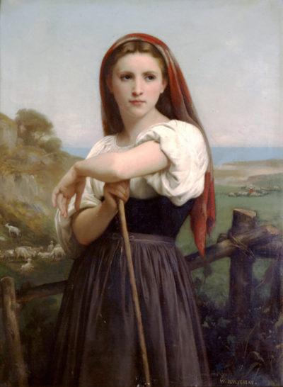 William-Adolphe Bouguereau Young Shepherdess