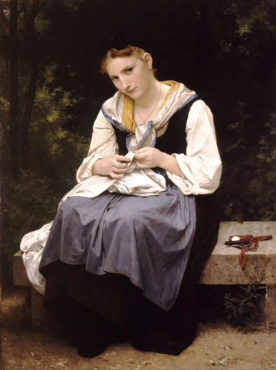William-Adolphe Bouguereau Young Worker