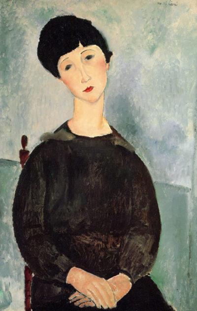 Amedeo Clemente Modigliani Young girl