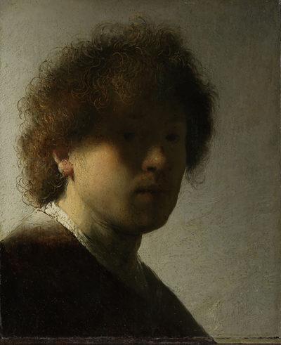 Rembrandt Harmensz. van Rijn Self-portrait