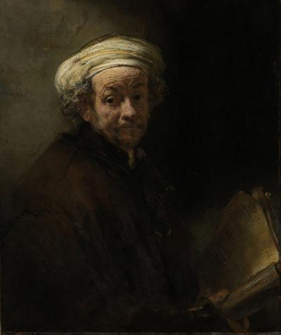 Rembrandt Harmensz. van Rijn Self Portrait as the Apostle Paul