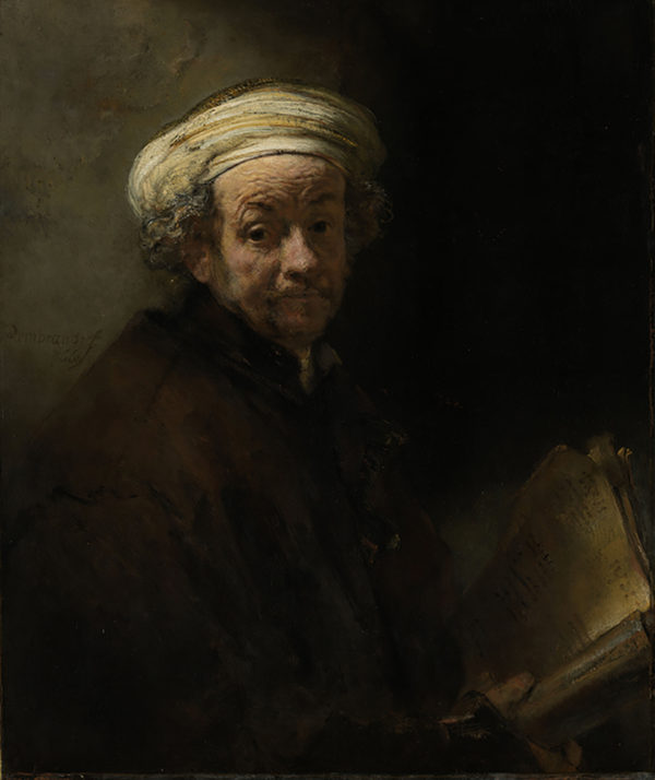 Rembrandt Harmensz. van Rijn Self Portrait as the Apostle Paul