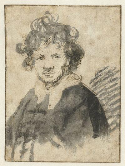 Rembrandt Harmensz. van Rijn Self-portrait of Rembrandt van Rijn