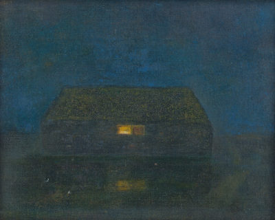 Jopie Huisman Huisje in de nacht