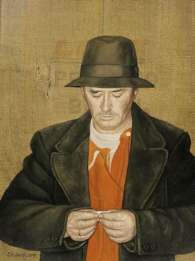 Jopie Huisman Zelfportret 1978
