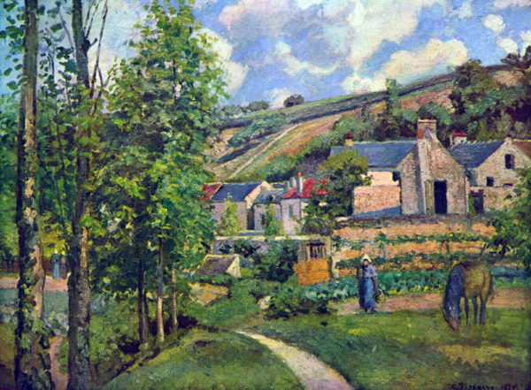 Camille Pissarro Landscape in Pontoise